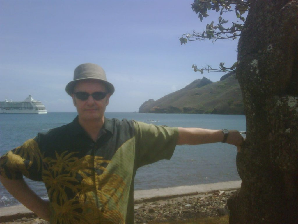 Joe in Tahiti, Cruise Ships